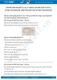Giải bài tập Luyện tập hình cầu, diện tích mặt cầu và thể tích hình cầu SGK Toán 9 tập 2