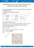 Giải bài tập Luyện tập tỉ số lượng giác của góc nhọn SGK Toán 9 tập 1