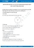 Giải bài tập Góc ở tâm, số đo cung SGK Toán 9 tập 2