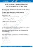 Giải bài tập Công thức nghiệm của phương trình bậc hai Đại số 9 tập 2