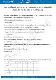 Giải bài tập Đồ thị của hàm số y = ax² (a ≠ 0) Đại số 9 tập 2