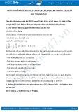 Giải bài tập Rút gọn biểu thức chứa căn bậc hai SGK Toán 9 tập 1