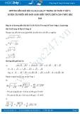 Giải bài tập Luyện tập biến đổi đơn giản biểu thức chứa căn thức bậc hai SGK Toán 9 tập 1