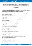 Giải bài tập Biến đổi đơn giản biểu thức chứa căn thức bậc hai (tiếp theo) SGK Toán 9 tập 1