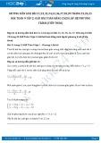 Giải bài tập toán bằng cách lập hệ phương trình (tiếp theo) SGK Toán 9 tập 2