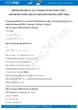 Giải bài tập Liên hệ giữa phép chia và phép khai phương (tiếp theo) SGK Toán 9 tập 1