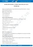 Giải bài tập Căn bậc hai (tiếp theo) SGK Toán lớp 9 tập 1