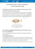 Giải bài tập Cấu tạo trong của cá chép SGK Sinh học 7