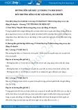 Giải bài tập Môi trường sống và sự vận động, di chuyển SGK Sinh học 7
