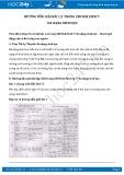 Giải bài tập Đa dạng sinh học SGK Sinh học 7