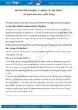 Giải bài tập Đa dạng sinh học (tiếp theo) SGK Sinh học 7