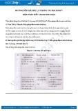Giải bài tập Biện pháp đấu tranh sinh học SGK Sinh học 7