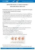 Giải bài tập Trùng biến hình và trùng giày SGK Sinh học 7