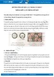 Giải bài tập Trùng kiết lị và trùng sốt rét SGK Sinh học 7