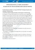 Giải bài tập Đa dạng của lớp thú các bộ móng guốc và bộ linh trưởng SGK Sinh học 7