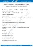 Giải bài tập Phương trình bậc nhất một ẩn và cách giải SGK Đại số 8 tập 2