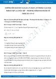 Giải bài tập Luyện tập – Phương trình đưa được về dạng AX + B = 0 SGK Đại số 8 tập 2