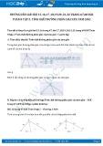 Giải bài tập Tính chất đường phân giác của tam giác SGK Hình học 8 tập 2