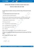 Giải bài tập Phương trình chứa ẩn ở mẫu SGK Đại số 8 tập 2
