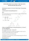 Giải bài tập Trường hợp đồng dạng thứ hai SGK Hình học 8 tập 2