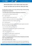 Giải bài tập Giải bài toán bằng cách lập phương trình SGK Đại số 8 tập 2 (tiếp theo)