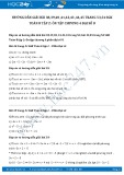 Giải bài tập Ôn tập chương 4 Bất phương trình bậc nhất một ẩn SGK Đại số 8 tập 2