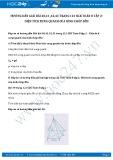 Giải bài tập Diện tích xung quanh của hình chóp đều SGK Hình học 8 tập 2