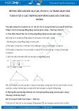 Giải bài tập Các trường hợp đồng dạng của tam giác vuông SGK Hình học 8 tập 2