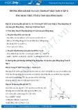Giải bài tập Ứng dụng thực tế của tam giác đồng dạng SGK Hình học 8 tập 2