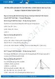 Giải bài tập Ôn tập chương 3 Tam giác đồng dạng SGK Hình học 8 tập 2