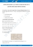 Giải bài tập Sự đồng biến, nghịch biến của hàm số SGK Giải tích 12