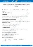 Giải bài tập Lôgarit SGK Giải tích 12