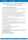 Giải bài tập Phương pháp quy nạp toán học SGK Đại số và giải tích 11