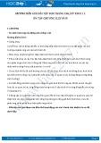 Giải bài tập ôn tập chương 2, 3, 4  SGK Sinh 11