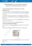 Giải bài tập Quang hợp ở các nhóm thực vật C3 C4 và CAM SGK Sinh 11
