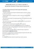 Giải bài tập Ảnh hưởng của nhân tố ngoại cảnh tới quang hợp SGK Sinh 11