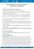 Giải bài tập Vận chuyển các chất trong cây SGK Sinh 11