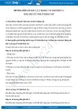Giải bài tập Sinh sản vô tính ở động vật SGK Sinh 11