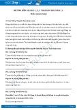 Giải bài tập Tuần hoàn máu SGK Sinh 11