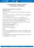 Giải bài tập Sự hấp thụ nước và muối khoáng SGK Sinh 11