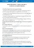 Giải bài tập Vai trò của các nguyên tố khoáng SGK Sinh 11