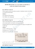 Giải bài tập Luyện tập Ankan và Xicloankan SGK Hóa 11