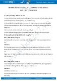 Giải bài tập Hợp chất của cacbon SGK Hóa 11