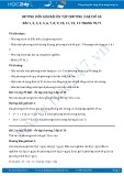 Giải bài tập Ôn tập chương 3 SGK Đại số 10