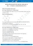 Giải bài tập Ôn tập chương 1 SGK Hình học 10