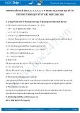 Giải bài tập Phương trình quy về phương trình bậc nhất, bậc hai SGK Đại số 10
