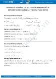 Giải bài tập Bất phương trình và hệ bất phương trình một ẩn SGK Đại số 10