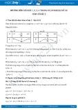 Giải bài tập Hàm số bậc hai SGK Đại số 10