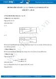 Giải bài tập Hàm số y = ax + b SGK Đại số 10