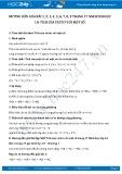 Giải bài tập Tích của vectơ với một số SGK Hình học 10